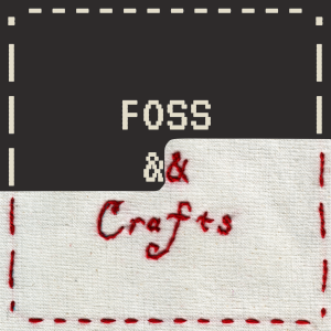 FOSS and Crafts logo